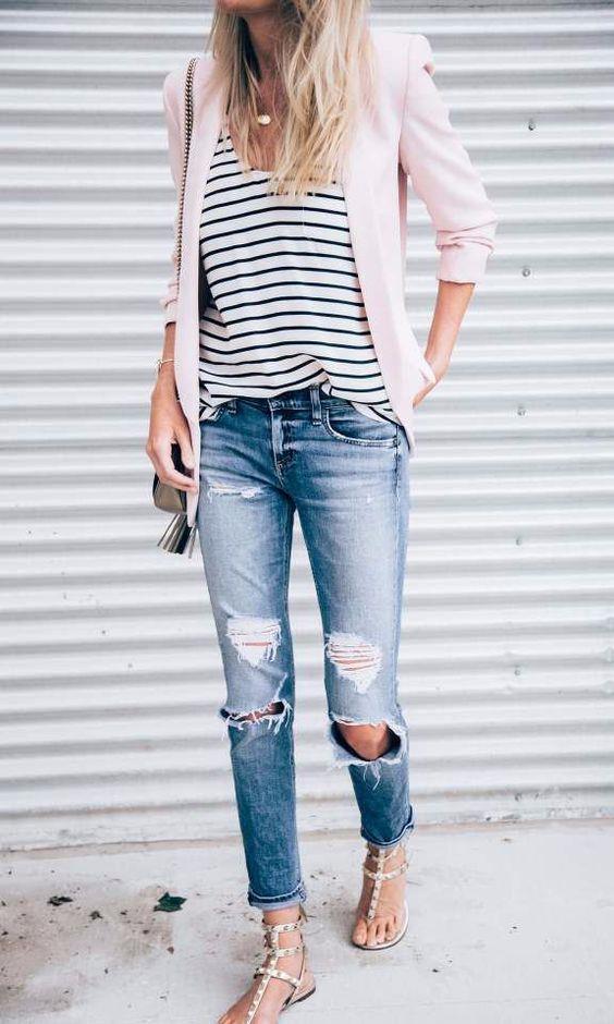 Trend: Açık Renk Yıkanmış Jean Pantolon - 8