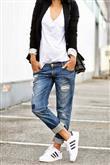 Trend: Açık Renk Yıkanmış Jean Pantolon - 12