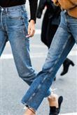 Trend: Açık Renk Yıkanmış Jean Pantolon - 1