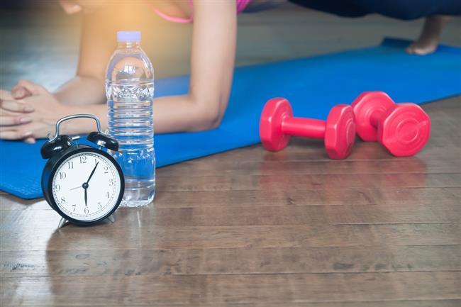 Egzersizin süresi:   Farklı söylemler olsa da genel olarak kabul edilen süre egzersizin en az 20 dakika sürmesi şeklindedir. Bu süreye ısınma ve soğuma dönemlerinin dahil olmadığını unutmamak gerekir.