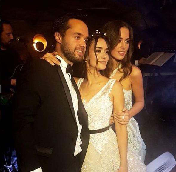 İşte Hande Soral ve İsmail Demirci'nin düğününden kareler…