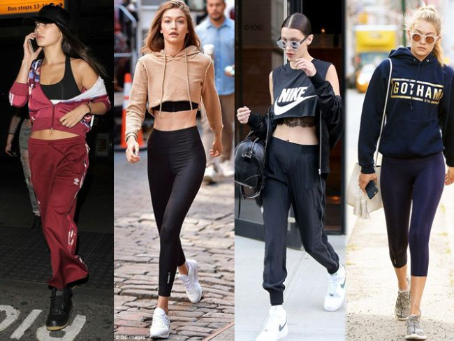Bella Ve Gigi Hadid'in Spor Stili - 1