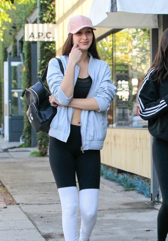 Bella Ve Gigi Hadid'in Spor Stili - 4