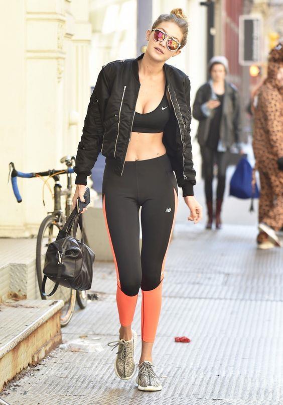 Bella Ve Gigi Hadid'in Spor Stili - 19