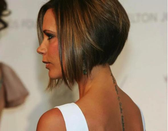 Bob saç kesimi Victoria Beckham ile ikonikleşen, arkası kısa önü uzun, küt saç kesimi yıllardır kısa saç severler tarafından kullanılıyor.