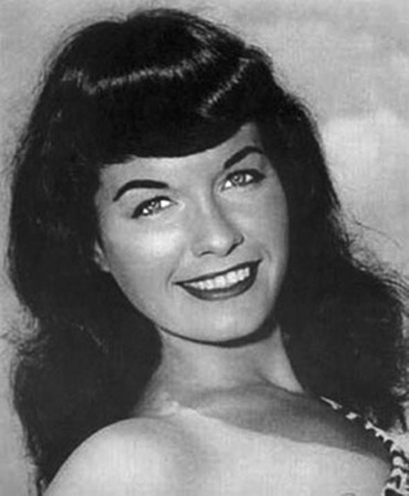 Kısa kâkül  1950 yılında Bettie Page ile ünlenen saç modeli, yıllarca herkes tarafından çok sevildi. Ayrıca Page'in siyah saç rengi de popülerleşti.