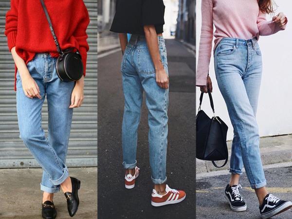 Mom jeans  Günlük yaşamın önemli bir stili haline getirdiği Mom'ların çok rahat olduğundan kuşkumuz yok. Ancak eğer 20'li yaşlarınızda değilseniz bu pantolonların sizi olduğunuzdan yaşlı gösterme riski var.