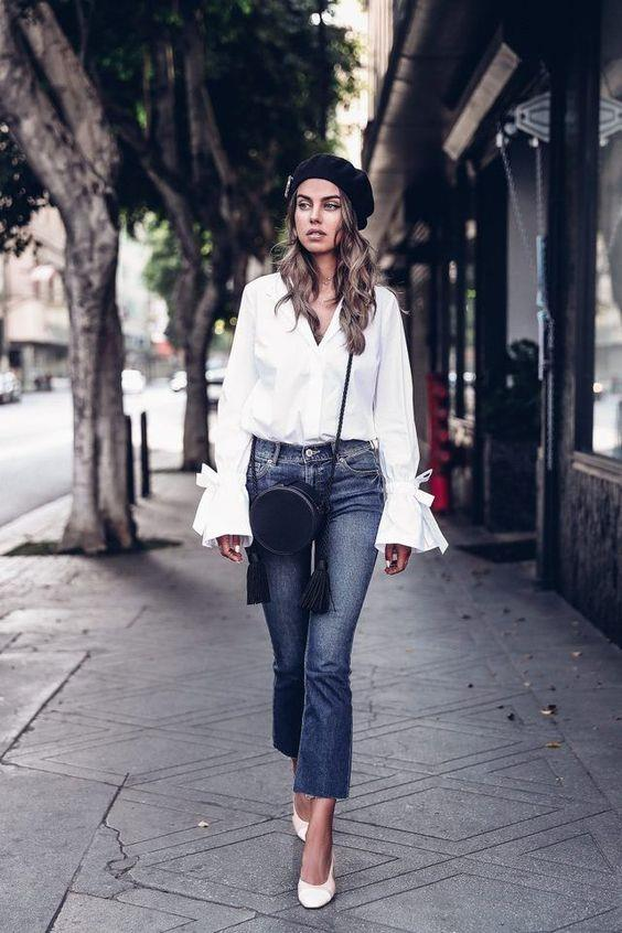 Tarzınıza ve zevkinize göre tercih edebileceğiniz jean pantolonlar ve parizyen bereler şık bir görüntüye ulaşmanızı sağlayacak.