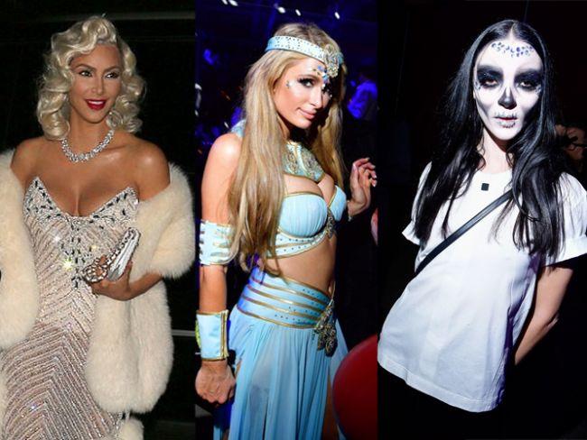 Gösteri dünyasının ünlü isimleri dün akşam Cadılar Bayramı'nda buluştu. Birçok farklı bölgede kutlanan özel gecede pek çok renkli görüntü objektiflere yansıdı.  Kaynak Fotoğraflar:İnstagram