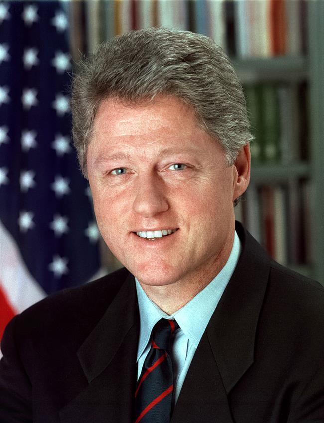 Bill Clinton  Bill Clinton doğduğunda annesi duldu ve bu nedenle büyükanne-babasının yanına gönderildi.