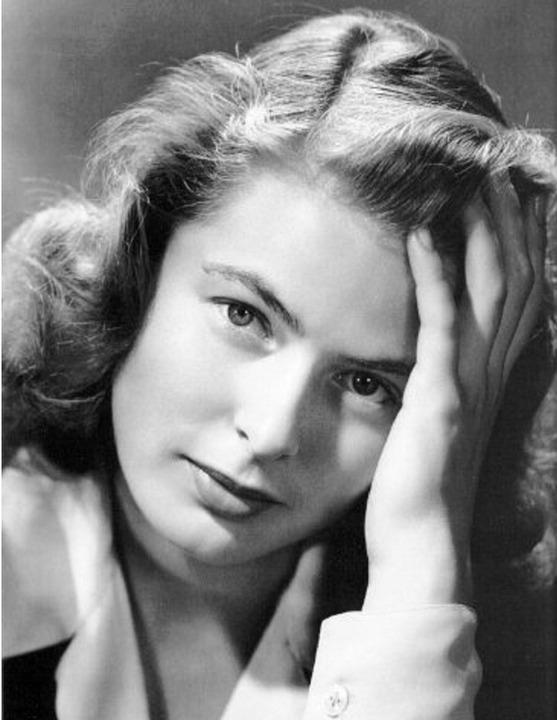 Ingrid Bergman  Kazablanka'nın yıldızı oyuncu henüz 13 yaşındayken teyzesine gönderildi ve bütün ilk gençliğini orada geçirdi.