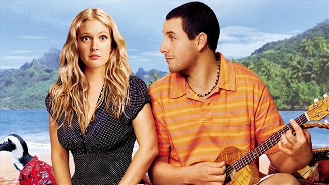 50 First Dates – 50 İlk Öpücük (2004)   Dünyanın en tatlı hikayesini, dünyanın en tatlı iki oyuncusu Adam Sandler ve Drew Barrymore'un canladırdığı bu film, insanın kalbini güneşte kalmış çikolata gibi sıcacık eritir. Peter Segal'in yönettiği filmde; erkeğimiz, geçirdiği bir kaza sebebiyle her gün hafızası sıfırlanan aşık olduğu kızı, o her yeni günde kendine aşık etmeye çalışır. O nasıl bir tatlı aşk hikayesidir, belli değil.