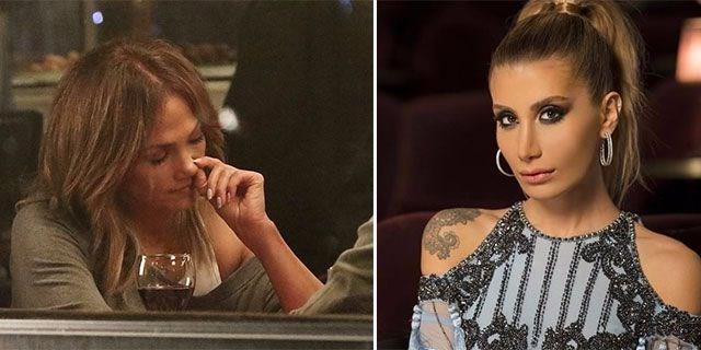 Jennifer Lopez'e İrem Derici'den Destek  Dünyaca ünlü yıldız Jennifer Lopez'in burnunu karıştırdığı fotoğrafa İrem Derici'den destek geldi.