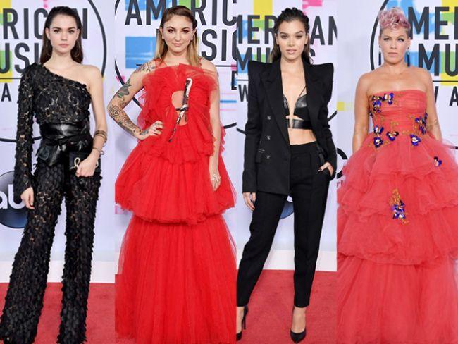 2017 Amerikan Müzik Ödülleri'nin (AMA's) en iyi görümü yakalamış ünlülerini sizler için biraraya getirdik.  Kaynak Fotoğraflar: Pinterest