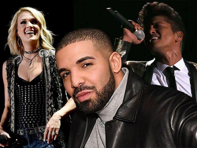 Bu sene de ünlüler ödül törenlerine damga vurmaya devam ediyor. 2017 Amerikan Müzik Ödülleri'nde kimi yılın artisti seçildi kimi de şarkılarıyla hayranlarına müzik zevki yaşattı. İşte ödül kazanan ünlüler...  Kaynak Fotoğraflar: Pinterest