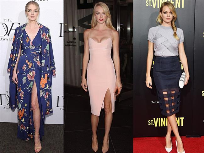 Lindsay Ellingson  Genellikle sade ve romantik tarzlarda kullandığı parçalarıyla en iyi giyinen modellerden biri de Lindsay Ellingson'dur.