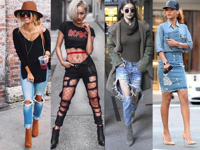 En İyi Ripped Jeans Kombinleri - 1