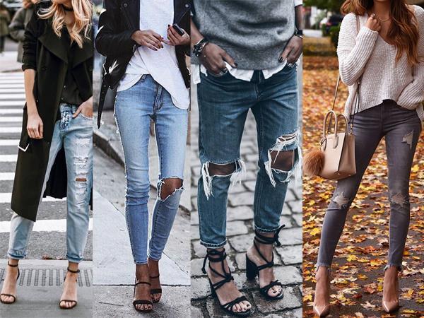 En İyi Ripped Jeans Kombinleri - 4