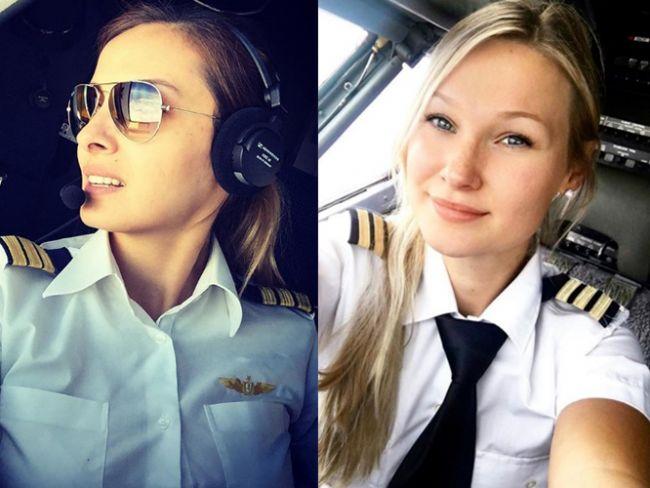 Onların kanatları adeta demirden bir melek! İşte Instagram'da paylaştıklarıyla fenomen haline gelen kadın pilotlar...  Kaynak Fotoğraflar: İnstagram, Hürriyet Arşiv