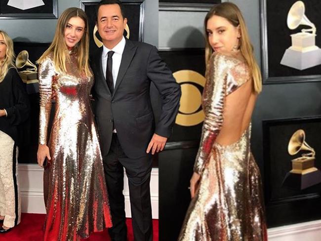 Müzik sektörün en saygın ödülü olan Grammy Ödülleri New York Madison Square Garden'da düzenlenen törenle sahiplerini buldu. Töreni izleyenler arasında ünlü televizyoncu Acun Ilıcalı ile eşi Şeyma Subaşı da vardı.  Kaynak Fotoğraflar: Instagram