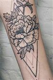 Çiçek Severler İçin Çiçekli Dövme Modelleri - 13