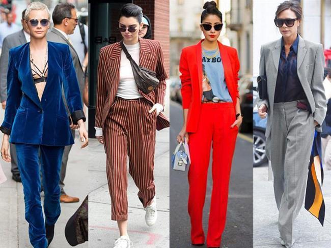 Maskülen duruşunun yanı sıra renk ve model alternatifleri ile takım elbiseler, sezona iddialı bir giriş yaptı.  İster gösterişli ister seksapel ister klasik hemen her kombininizi tamamlamak için takım elbiseler ideal bir seçim olacak!  Kaynak Fotoğraflar: Google Yeniden Kullanım, Pinterest
