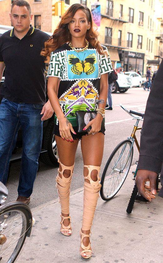 Rihanna'nın En İyi 27 Kombini - 13