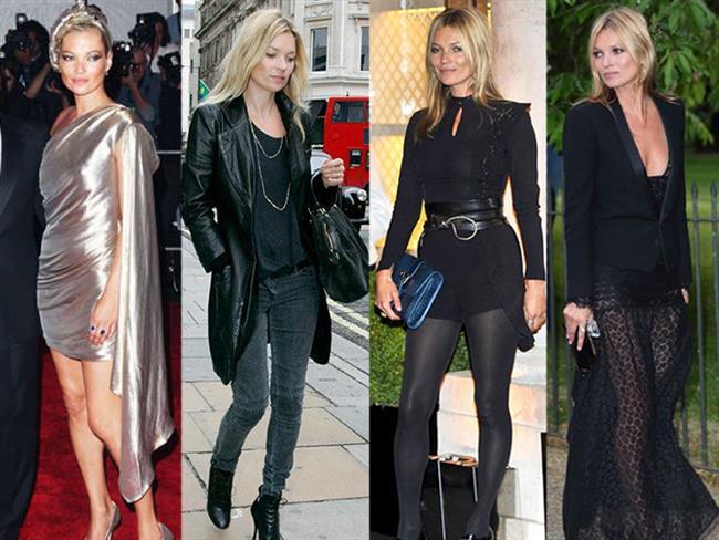 Cool kıyafetleri ve kendi özgü giyim tarzıyla dikkat çeken Kate Moss moda dünyasının en aykırı isimleri arasında. Siz de Kate Moss'un stilinden ilham alarak kombinlerinize farklılık katabilirsiniz.  Kaynak Fotoğraflar: Pinterest