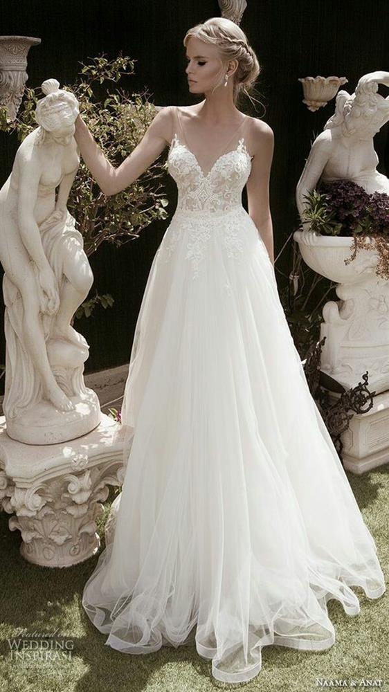 İlkbahar Düğünleri İçin Gelinlik Modelleri - 11