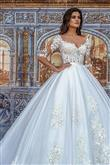 En Güzel Prenses Gelinlik Modelleri - 13
