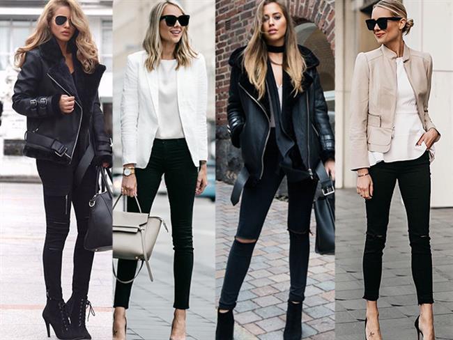 Tekrar Moda Olan Siyah Jean'lerle Ne Giymelisiniz? - 1