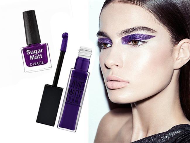 Her sene olduğu gibi bu sene de yılın rengi değişiyor. Baharın yeşilliklerine büründüğümüz bugünlerde ultra violet trendi kendini bir adım öne çıkararak 2018'in rengi olmaya hak kazanıyor. Ultra violet trendini denemek isteyenler için sizlere en güzel makyaj ürünlerini derledik.  Kaynak Fotoğraflar: Pinterest