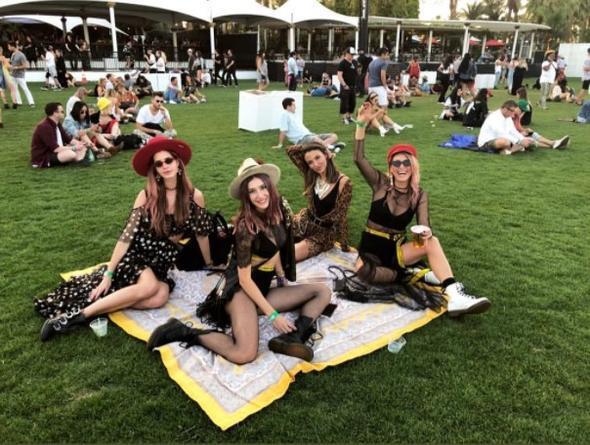Ünlülerin Coachella Coşkusu! - 4