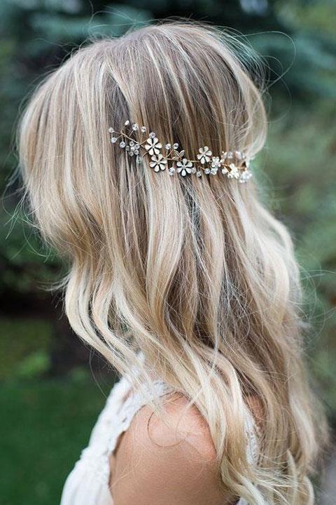 En Şık Gelin Saçı Aksesuarları - 9