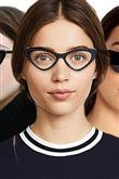 Cat Eye Gözlük Trendi - 1