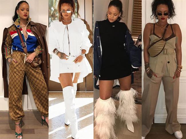 Son dönemlerde aldığı kilolar ve Met Gala 2018 kostümüyle ön plana çıkan güzel stil ikonlarından biri olan Rihanna'nın stilini markaj altına aldık.   Kaynak Fotoğraflar: Instagram