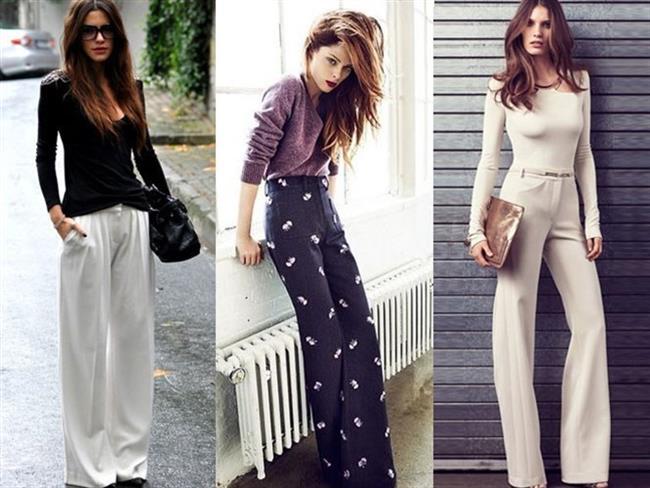 Geniş paça pantolonlar gerçekten çok konforlu görünüyorlar ama onları kombinlemek ve şık bir görüntü yakalamak o kadar kolay mı? Zor değil, ancak bir parça özen gerektiriyor. İşte bu yaz geniş paça pantolonları kullanabilmeniz için size fikir verebilecek bazı stil önerileri...  Kaynak: Doğan Burda