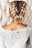 Romantikten Asiye En Güzel Saç Örgüsü Modelleri - 26