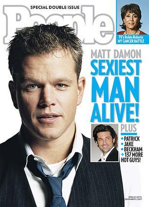 Matt Damon'ın rol için büründüğü karakter, Geçen sene Amerikan magazin dergisi People okurlarının en seksi erkek seçtiği erkeğe hiç benzemiyor.