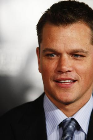 Matt Damon...