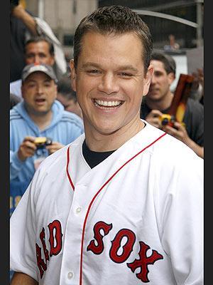 Matt Damon...