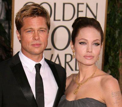 Brangelina isimli resimde yakışıklı aktörü eşi Angelina Jolie çekiciliğinde görüyoruz.