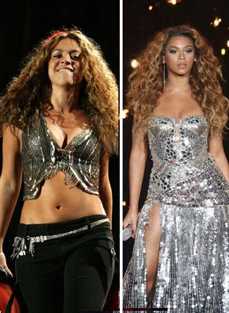 Shakira ve Beyonce