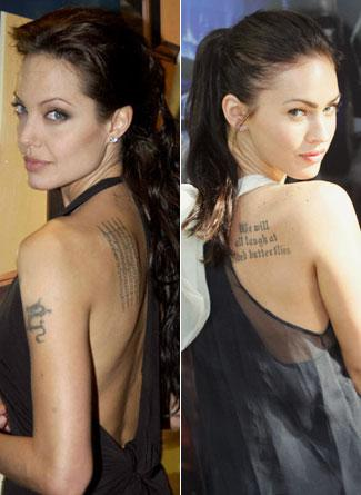 Angelina Jolie ve Megan Fox
