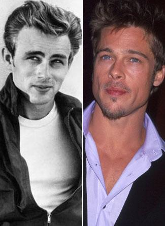 James Dean ve Brad Pitt