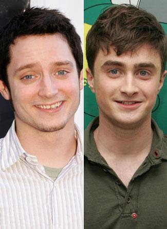 Elijah Wood ve Daniel Radcliffe