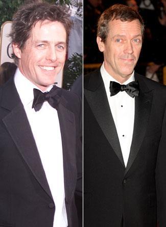 Hugh Grant ve Hugh Laurie
