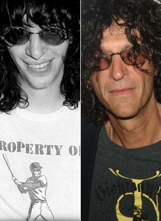 Joey Ramone ve Howard Stern