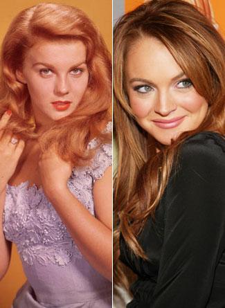 Ann-Margret ve Lindsay Lohan