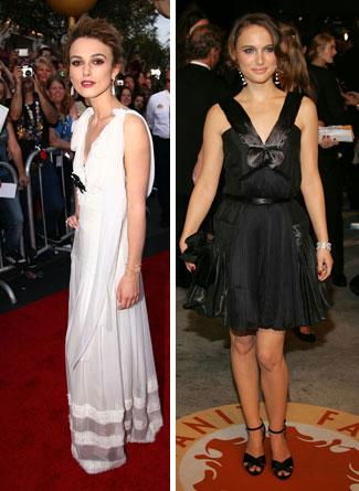 Keira Knightley ve Natalie Portman